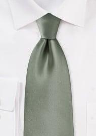 Kids Tie in Olive Green