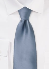 Slate Blue XL Length Tie