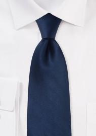Dark Blue Kids Silk Tie