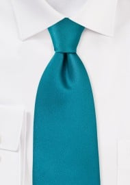 Solid Color Ties Jade Green