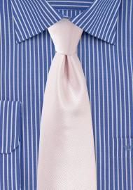 Wedding Tie in Soft Blush