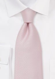 Light Pink Necktie in XL