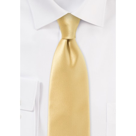 Contemporary Cut Maize Necktie