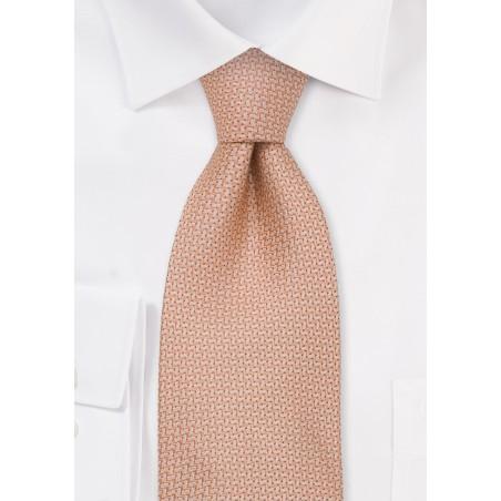 Brand name neckties - Pink silk tie by Chevalier