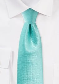 Formal Textured Tie in Spa