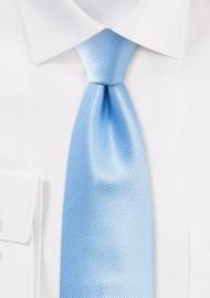 Formal Summer Tie in Capri Blue