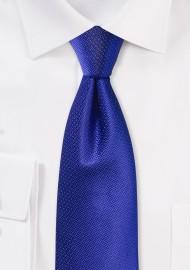 Mens Wedding Tie in Bright Horizon Blue