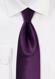 Italian Plum Hued Wedding Tie