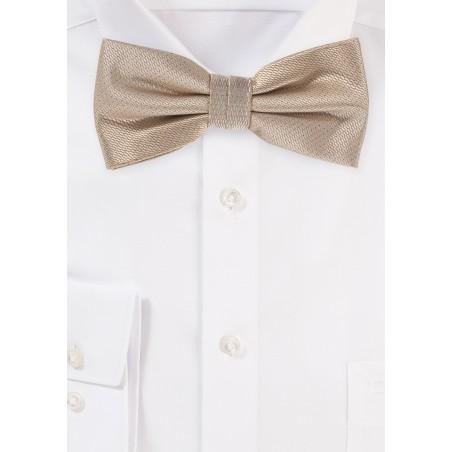 Formal Golden Mens Bow Tie