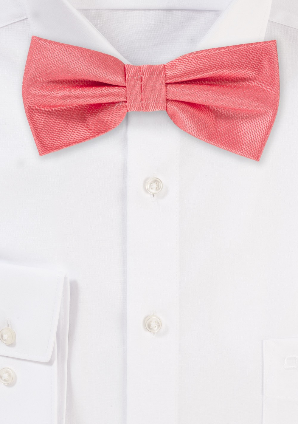 Dressy Bow Tie in Coral Reef