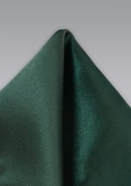 Dark Green Handkerchief for Men