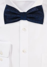Mens Bowtie in Midnight Navy