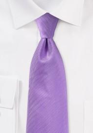 Herringbone Tie in Violet