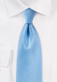 Herringbone Tie in Sky Blue