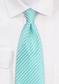 Spearmint Hued Summer Tie