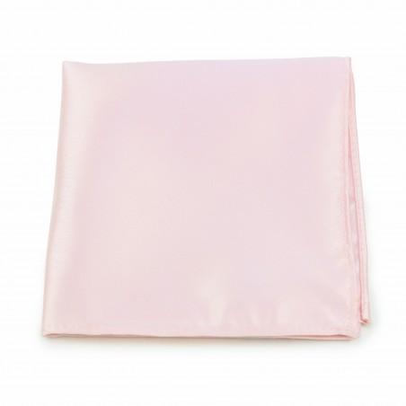 Solid Blush Pink Pocket Square