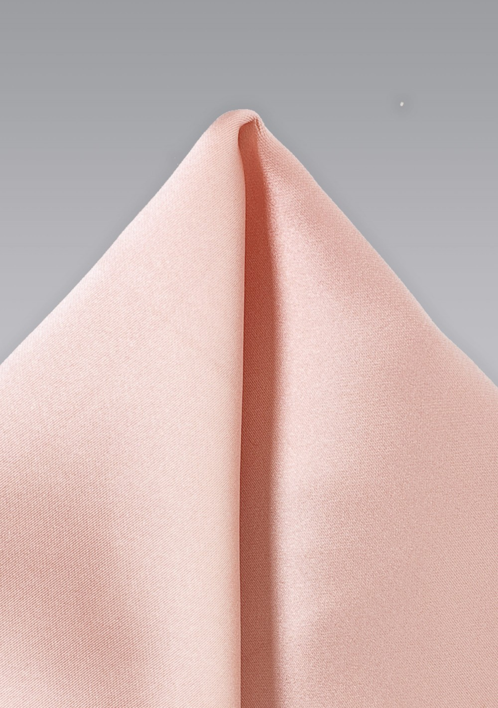 Peach Pink Pocket Square
