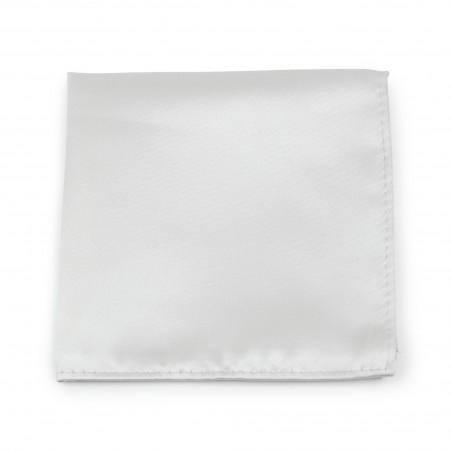 Light Platinum Color Pocket Square