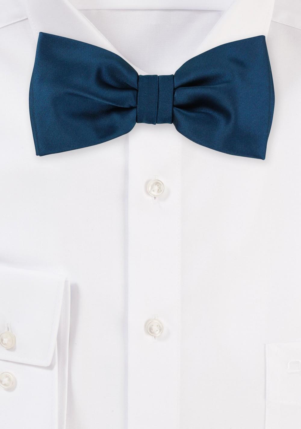 Bow Tie in Dark Teal