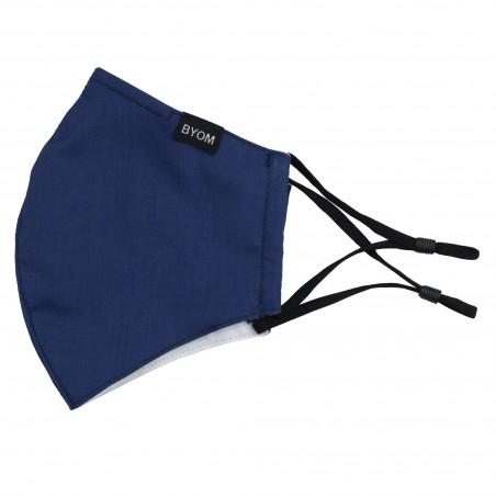 ocean blue mask in cotton