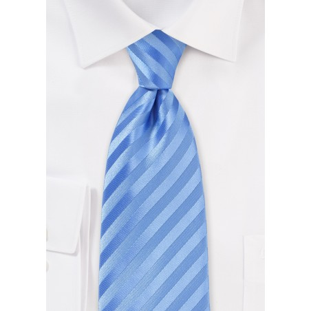 Cornflower Blue Mens Tie