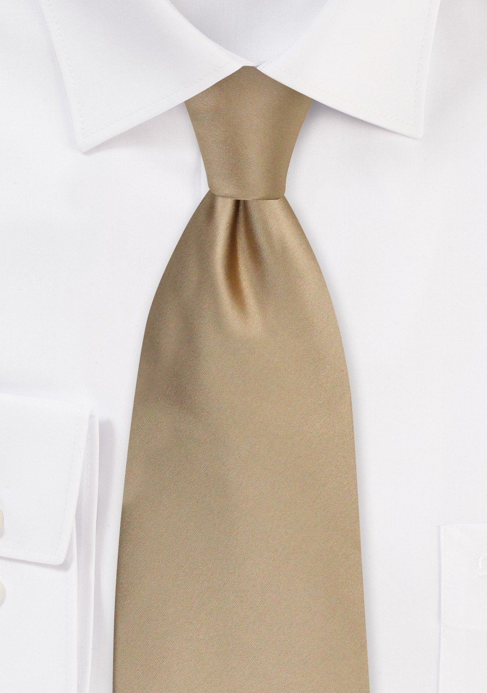 Men/'s Light Brown and Off White Striped Woven Tie With Hanky.