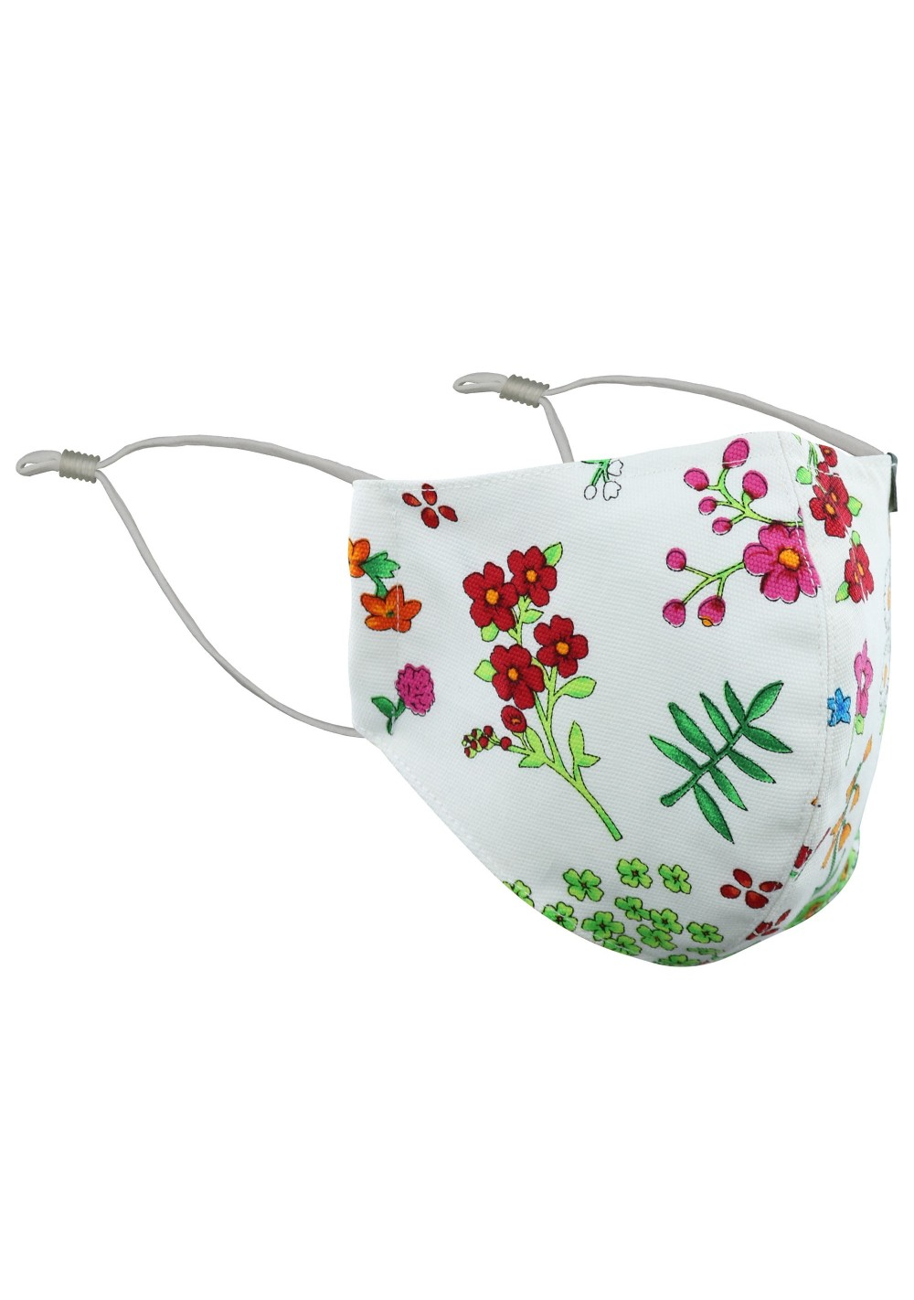 Spring Flower Print Cotton Mask