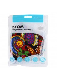 Flower Power Colorful Face Mask in Mask Bag