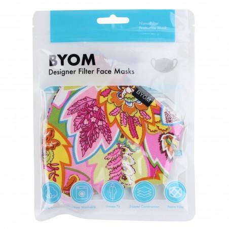 Spring Bouquet Floral Filter Mask in Mask Bag