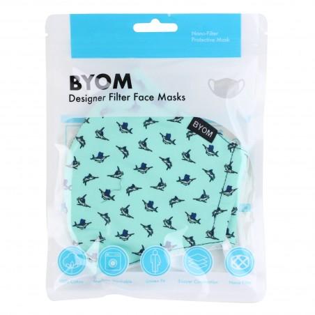 Marlin Print Filter Mask in Mask Bag