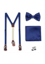 Suspender Bowtie Set in...