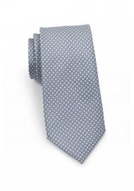 Shadow Gray Pin Dot Tie