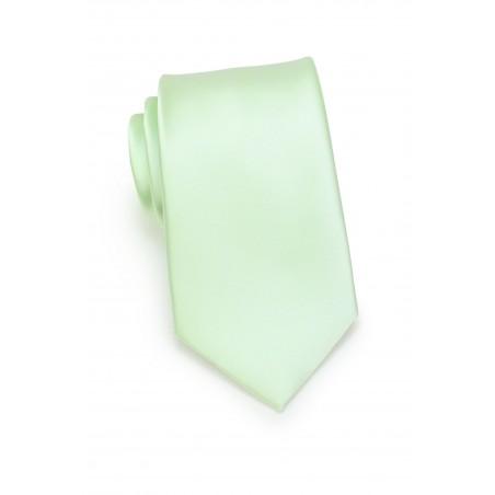 Necktie in Wintermint Green