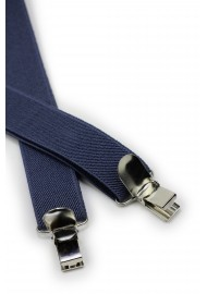 Charcoal Gray Suspenders Clips
