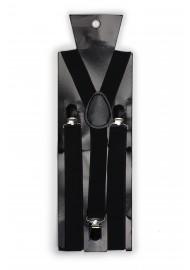 Formal Jet Black Suspenders Packaging