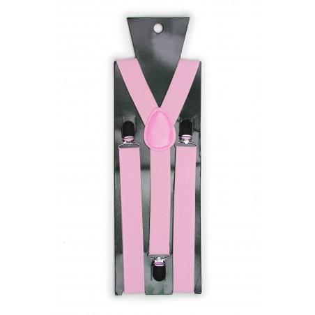 Bright Pink Mens Suspenders Packaging