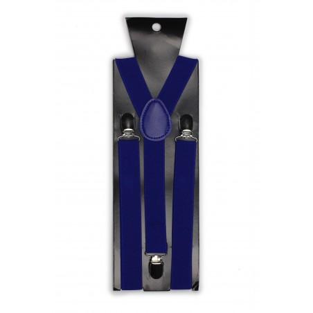 Suspenders in Horizon Blue Packaging
