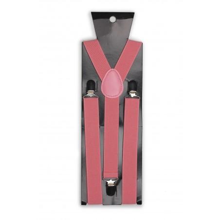 Suspenders in Tulip Pink Packaging