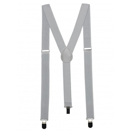 Solid Silver Suspenders