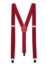 Cherry Red Suspenders