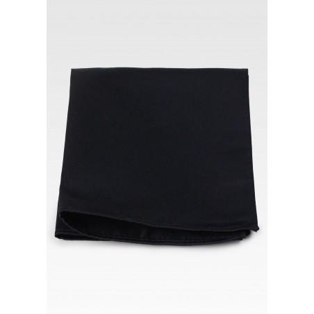 Black Pocket Hanky