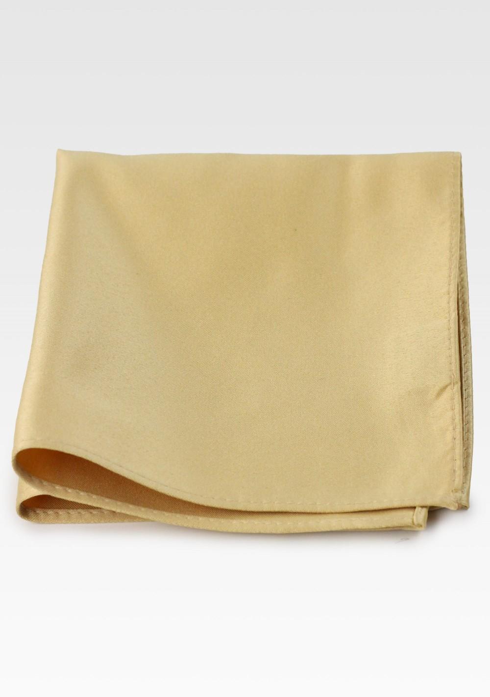 Golden Suit Hanky