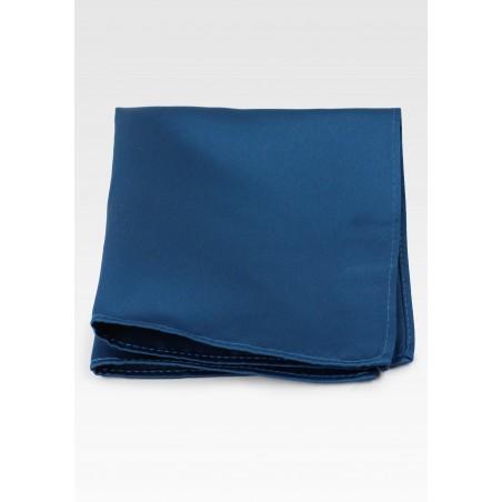 Teal Colored Pocket Square