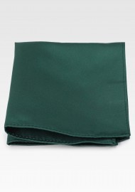 Rich Hunter Green Pocket Square