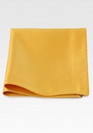 Amber Gold Pocket Square