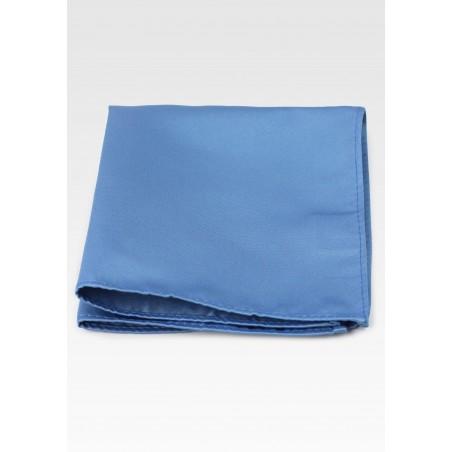 Steel Blue Pocket Hanky