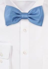 Steel Blue Kids Bow Tie