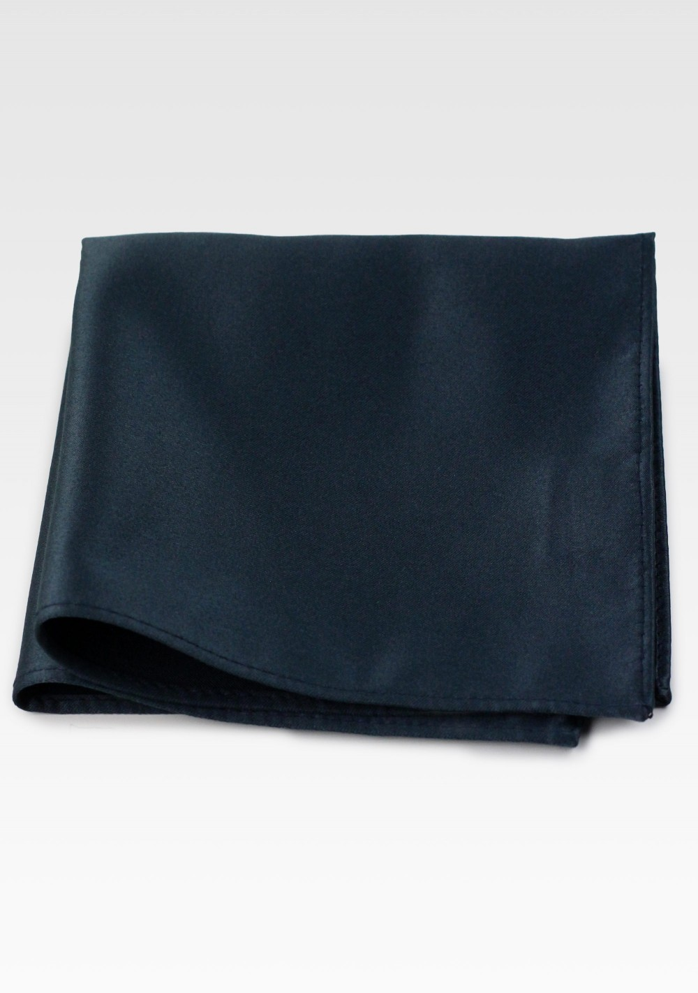 Charcoal Colored Suit Hanky