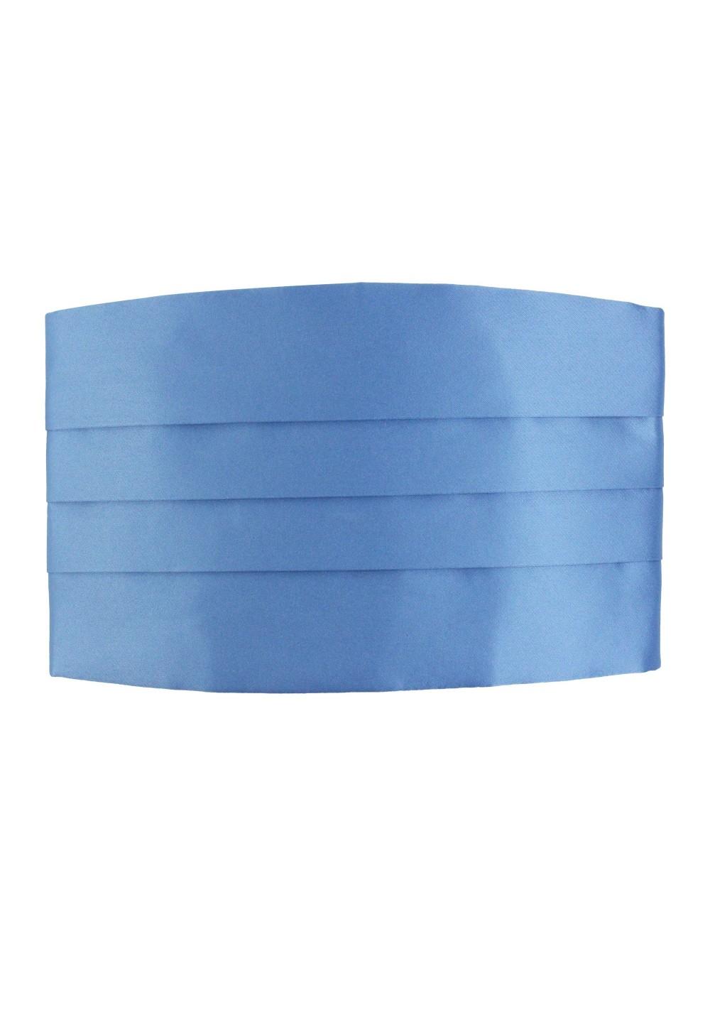Steel Blue Cummerbund Front