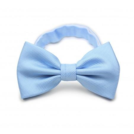 Sky Blue Textured Mens Tie